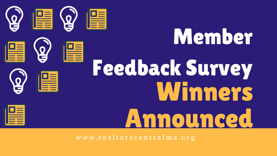 Member Feedback Survey Winners Announced
