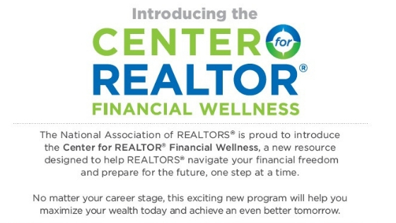 New NAR Membership Benefit Introduced: The Center for REALTOR® Financial Wellness